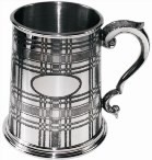 Tartan collection of pewter gifts