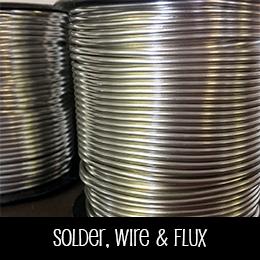 Solder, Wire & Flux