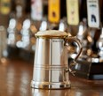 1 Pint X Range Pewter and Brass Worcester Tankard