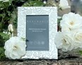 "Medium Yorkshire Rose Pewter 6""x4"" Picture Frame"
