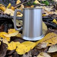 1 pint Antique Finish Pewter Tankard