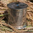 Celtic Cross Pewter Money Box