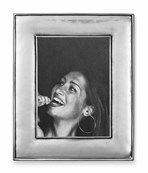 Pewter wide picture frame 10 cm x 12 cm ( 5cm x7cm )