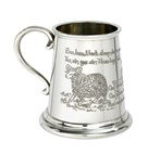Baa Baa Black Sheep Pewter Baby Mug