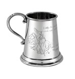 Little Bo Peep quarter pint pewter Baby Mug