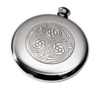 4oz Kells Pewter Sporran Flask