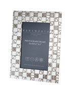"Knox pewter 6""x4"" small picture frame"