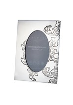 "Acanthus Pattern Pewter 6""x4"" Picture Frame"