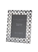 "Large Knox 7""x5"" Pewter Picture frame"