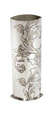 Acanthus Pattern Pewter Vase