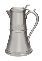 Medieval antique finish pewter Flagon