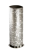 Large Tree of Life Pewter Vase