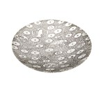 Ovals Pewter Bowl