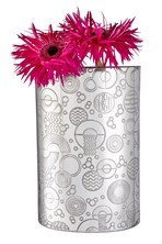 "Retro ""D"" Pewter Large vase"