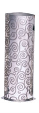 Tree of Life Pewter Vase