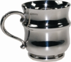 Hallmarked sterling silver Thistle Cup