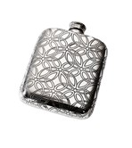 4oz Triquetra  Pewter Pocket Flask