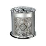 Celtic Spiral Pewter money box