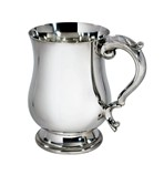 Georgian pewter 1 pint tankard