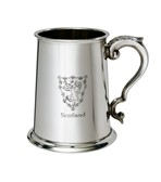 Lion of Scotland 1 pint pewter Tankard
