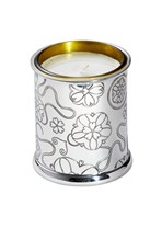 Yorkshire Rose Pewter Candle Votive