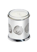 Charles Rennie Mackintosh Rose Pewter Candle votive