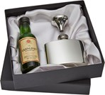 Box to fit flask and minature