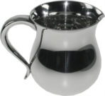 Half pint pewter water jug