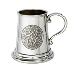 Celtic Circle Quarter Pint Pewter Baby Mug