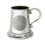 Celtic Circle Quarter Pint Pewter Baby Mug