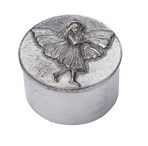 Cast pewter Fairy Trinket Box
