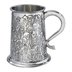 Love Skull 1 pint pewter Tankard