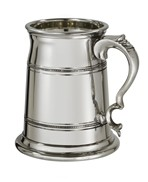 Extra Heavy Old London pewter Tankard