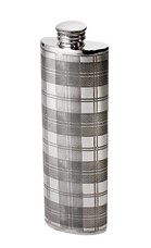 3oz Tartan pewter Purse flask