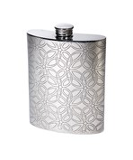 6oz Pewter Triquetra Kidney Hip Flask