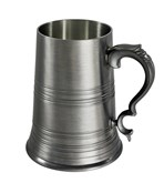 Glass Base Regency X range Pewter Tankard