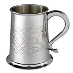 Islay pewter tankard