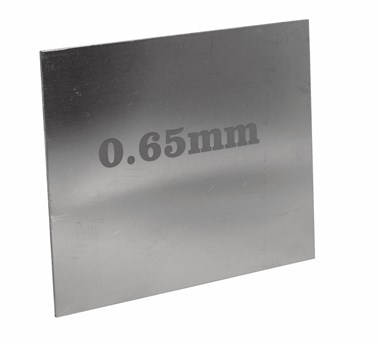 PEWTER SHEET 0.65mm GAUGE - cut to size