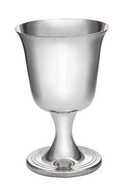 Small Bell Pewter Goblet