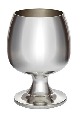 Pewter Brandy Goblet