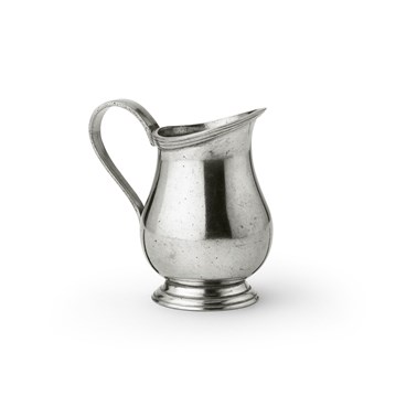 Pewter milk pot