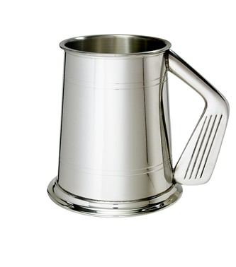 Golf Handle 1 pint pewter Tankard