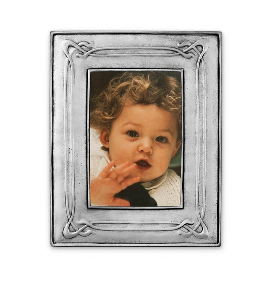 Pewter liberty large picture frame 18 cm x 23 cm (15 cm x 10cm )