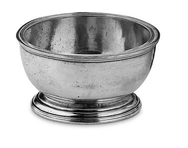 Pewter round bowl