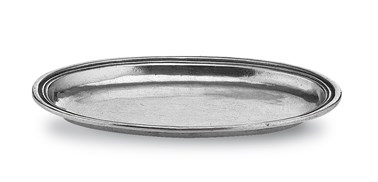 Pewter small oval dish