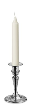 Pewter Classic candle holder short