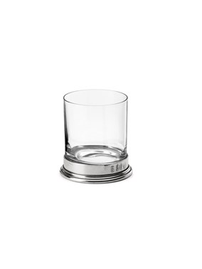Pewter & glass D.O.F. glass