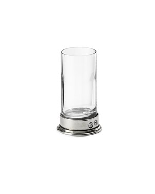 Pewter & Glass Shot glass