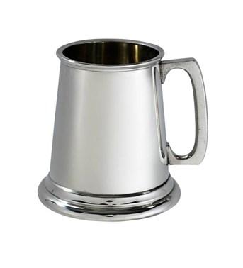 Plain Pewter Quarter Pint Baby Mug