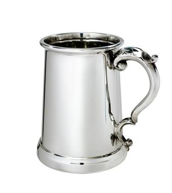 Gloucester 1 pint pewter Tankard